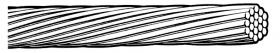 ACAR – Aluminum Conductor Alloy (6201) Reinforced